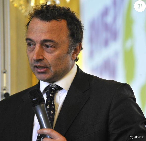 Olivier Chiabodo lors de la présentation et du lancement de 'Save your logo' au Ministere de l'Ecologie a Paris, France le 24 Mars 2009.