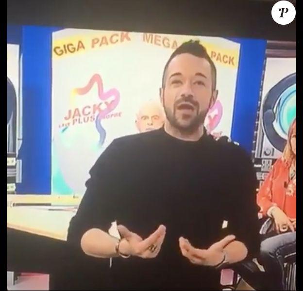 Phil Storm dans l'émission de Jacky sur IDF1, le 30 mars 2018.