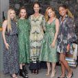 Amanda Seyfried, Kate Bosworth, Christy Turlington, Mena Suvari et Naomie Harris - Lancement de la collection Conscious Exclusive 2018 de H&M. Los Angeles, le 5 avril 2018.