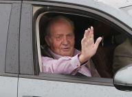 Juan Carlos Ier d'Espagne : Blagueur en quittant l'hôpital après son opération