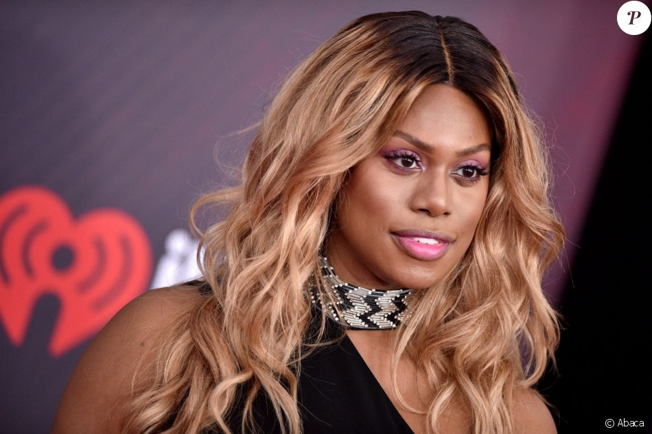 Laverne Cox aux iHeartRadio Music Awards 2018 à Inglewood, le 11 mars 2018.