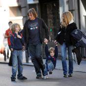 Quand Viggo Mortensen est en famille... c'est shopping au programme !