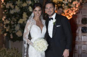 Frank Lampard et sa femme Christine :