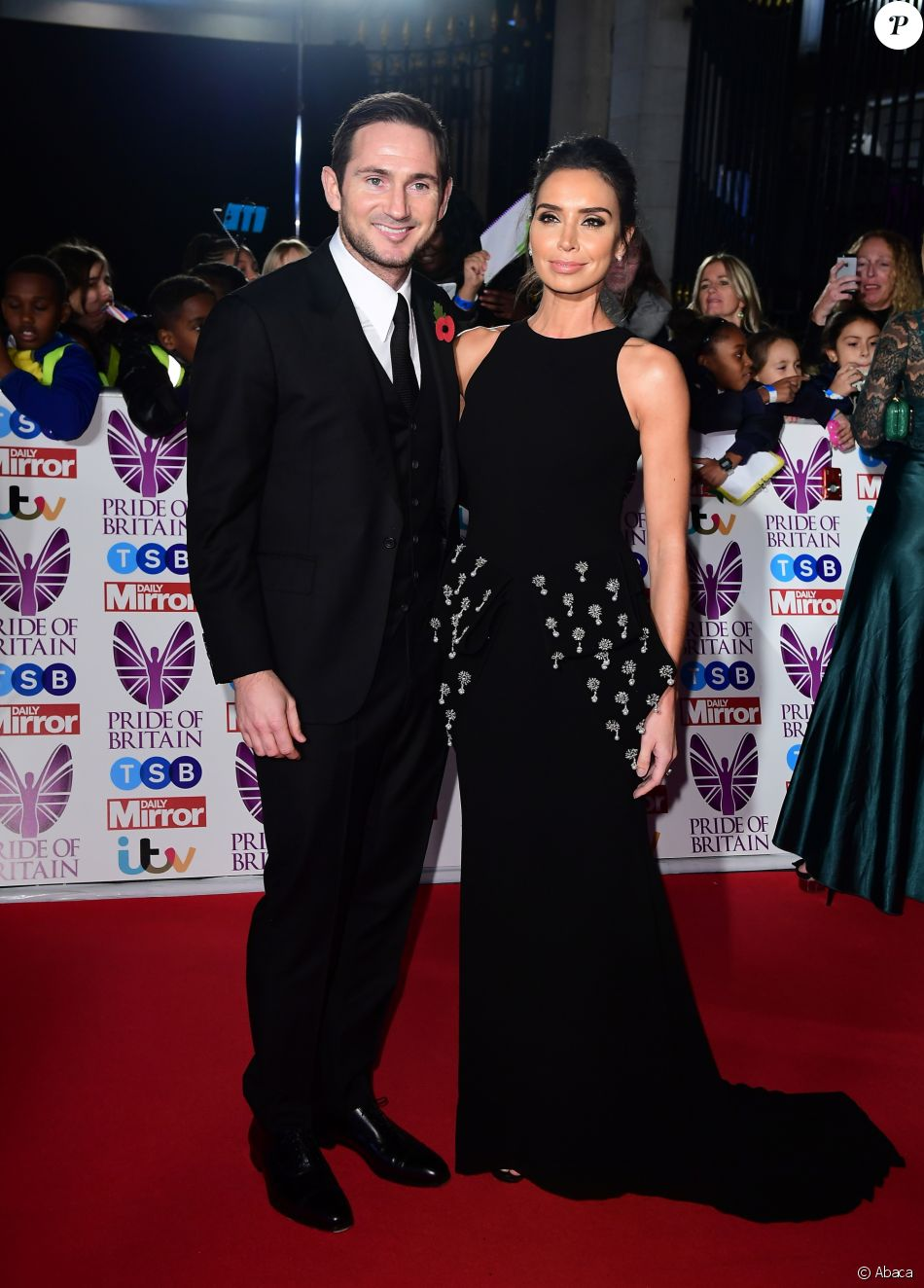 Frank Lampard et Christine Lampard à la cérémonie des Pride of Britain Awards 2017 à Londres le 30 octobre 2017