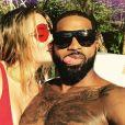 Khloé Kardashian et Tristan Thompson sur Instagram le 6 août 2017.