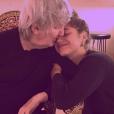 Izïa et son père Jacques Higelin ensemble, le 13 décembre 2017.