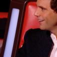 """Mika dans """"The Voice 7"""" sur TF1 le 7 avril 2018."""