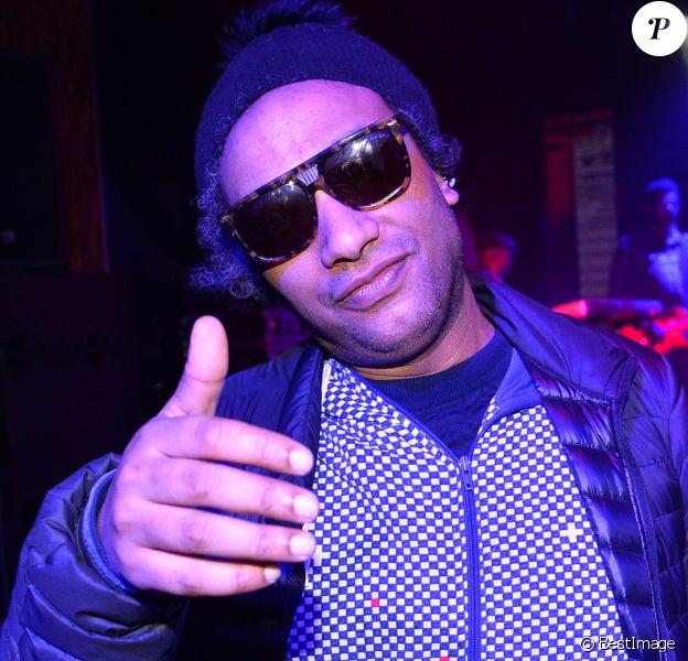 Doc Gynéco (Bruno Beausir) - Le collectif hip-hop français: Le Secteur Ä en showcase au Pau Brazil à Paris, France, le 5 avril 2018. © Veeren/Bestimage