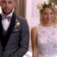 """Emmanuelle et Florian se sont mariés dans l'émission """"Mariés au premier regard"""" sur M6. Le 27 novembre 2017."""