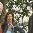 Neal McDonough, Dana Delany et James Denton sur le tournage de la saison 5 de Desperate Housewives