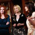 Toutes les héroïnes de Desperate Housewives sur le tournage de la saison 5