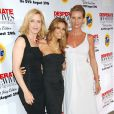 Felicity Huffman, Eva Longoria et Nicollette Sheridan... au temps du bonheur...