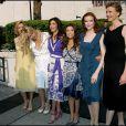 Felicity Huffman, Nicollette Sheridan, Teri Hatcher, Eva Longoria, Marcia Cross et Brenda Strong... les héroïnes de Desperate Housewives
