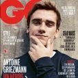 Antoine Griezmann en couverture du nouveau numéro de GQ France. Avril 2018.