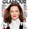 Melissa McCarthy en couverture du Glamour américain, mai 2018.