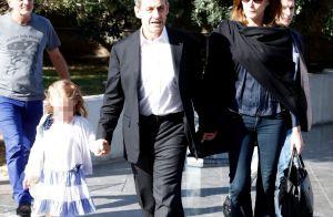 Nicolas Sarkozy main dans la main avec sa fille Giulia, Carla Bruni conquise