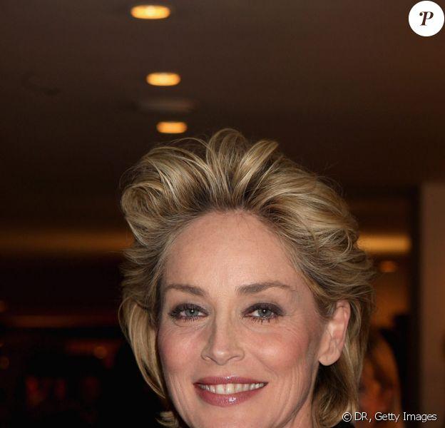 Sharon Stone lors de l'inauguration du One & Only Hotel de Cape Town en Afrique du Sud, le 2 avril 2009