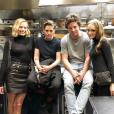 Lily-Rose Depp, Margot Robbie et Kristen Stewart : trois nouvelles clientes VIP pour Jean Imbert dans son restaurant parisien L'Acajou, ce 3 mai 2018.