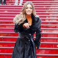 Exclusif - La nouvelle Miss Univers Demi-Leigh Nel-Peters, d'Afrique du sud, donne une interview sur Times Square à New York le 28 novembre 2017.