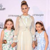Sarah Jessica Parker : Rare tapis rouge avec ses jumelles, Marion et Tabitha