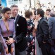 """Vincent Cassel et sa fiancée Tina Kunakey - Montée des marches du film """" Les Filles du Soleil """" lors du 71ème Festival International du Film de Cannes. Le 12 mai 2018 © Borde-Jacovides-Moreau/Bestimage"""