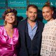 Laetitia Mendes, Clovis Cornillac et Lilou Fogli - Dans le cadre du 6e jour du 71e Festival de Cannes, la Suite Sandra & Co a dédié sa soirée à l'association Geneticancer, première et unique association de lutte contre les cancers génétiques et/ou d'origine héréditaire, créée en janvier 2016 par Laetitia Mendes. Le 13 mai 2018