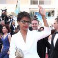 """Audrey Pulvar - Montée des marches du film """"Les Filles du Soleil"""" lors du 71ème Festival International du Film de Cannes. Le 12 mai 2018 © Borde-Jacovides-Moreau/Bestimage"""