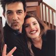 Jean-Pascal Lacoste, sa compagne    Delphine Tellier et sa fille Kylie sur Instagram, mars 2018.