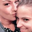 "Rayane Bensetti et Denitsa Ikonomova réunis pour soutenir Katrina Patchett lors de son spectacle ""Holiday On Ice"", mai 2018."