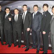 Les beaux gosses Eric Bana, Chris Pine et Karl Urban... nous arrivent tout droit de la planète Vulcain !