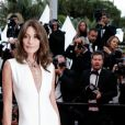 "Carla Bruni Sarkozy (Robe Dior Haute-Couture) - Montée des marches du film "" Le Grand Bain "" lors du 71ème Festival International du Film de Cannes. Le 13 mai 2018 © Borde-Jacovides-Moreau/Bestimage"