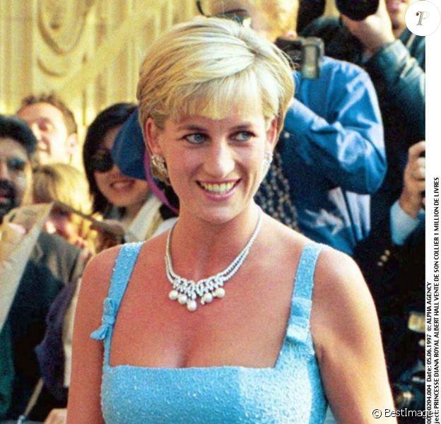 Diana, Princesse de Galla à Londres. Juin 1997.