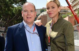 Charlene de Monaco stylée en kaki au Grand Prix, complice avec Albert