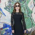 Isabelle Huppert - Photocall du défilé de la collection croisière Louis Vuitton 2019 dans les jardins de la fondation d'art Maeght à Saint-Paul-De-Vence, France, le 28 mai 2018.