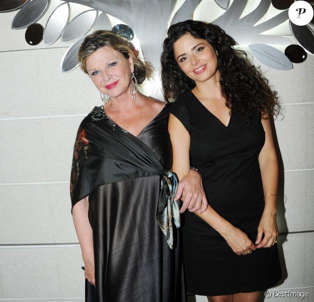 Jeane Manson et sa fille Shirel à Paris, le 7 juin 2016.