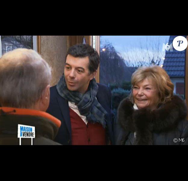 La mère de Stéphane Plaza a fait des confidences un peu gênantes sur son fiston dans Maison à vendre sur M6. Le 4 mars 2015.