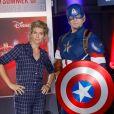 """Alice Taglioni à la soirée d'inauguration de la saison """"Marvel - Summer of Super Heroes (l'été des super-héros)"""" au parc Walt Disney Studios à Disneyland Paris. Marne-la-Vallée, le 9 juin 2018. © CVS/Bestimage"""
