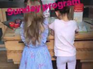 Carla Bruni-Sarkozy : Sa fille Giulia adorable apprentie cuisinière