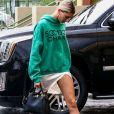 """Exclusif - Justin Bieber et Hailey Baldwin arrivent à la """"Vous conference"""" à Miami le 10 juin 2018."""
