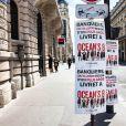 Ocean's 8 hijacke des espaces publicitaires à Paris.