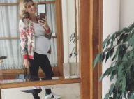 """Sylvie Tellier très enceinte """"en mode ballon"""" : Son message à toutes les femmes"""