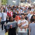 Exclusif - Serena Williams a visité le parc Disneyland Paris avec son mari Alexis Ohanian et leur fille Alexis Olympia Ohanian Jr et des membres de leur famille dont Oracene Price à Marne-la-Vallée le 7 juin 2018.