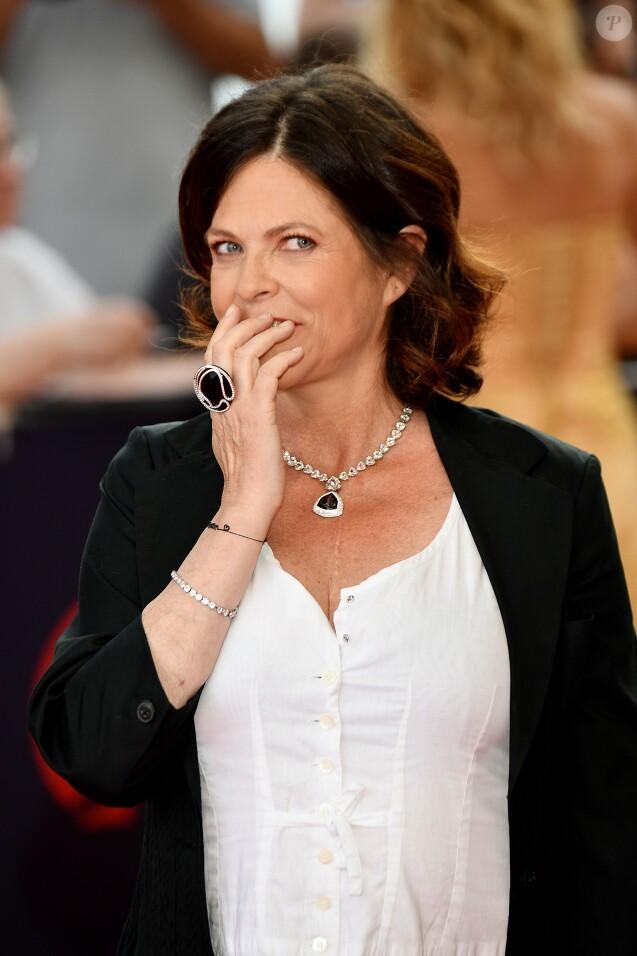 Charlotte Valandrey lors de la soirée d'ouverture du 58ème festival de Télévision de Monté-Carlo au Grimaldi Forum à Monaco le 15 juin 2018. © Bruno Bebert / Bestimage