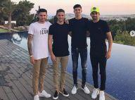 Zinédine Zidane : Ses quatre fils font tomber le haut à Ibiza
