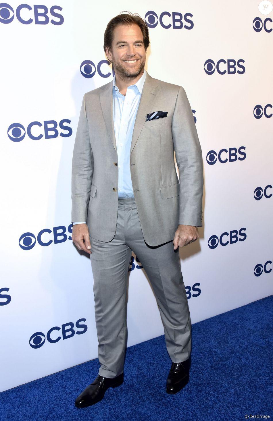 Michael Weatherly à la soirée CBS Upfront au Oak Room à New York, le 18 mai 2016