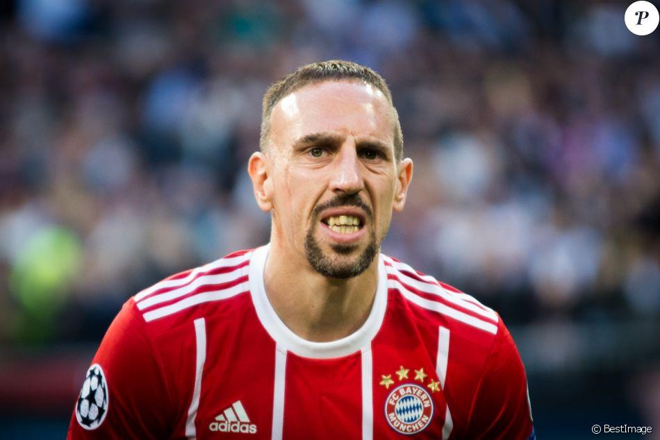 Franck Ribéry - Le Real Madrid en finale de la Ligue des champions après son match nul (2-2) contre le Bayern Munich au stade Santiago-Bernabéu à Madrid, le 1er mai 2018.