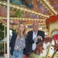 Laura Smet et Marcel Campion - Soirée d'inauguration de la 35ème fête foraine des Tuileries au Jardin des Tuileries à Paris, le 22 juin 2018. © Coadic Guirec/Baldini/Bestimage