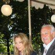 Marcel Campion, Laura Smet - Soirée d'inauguration de la 35ème fête foraine des Tuileries au Jardin des Tuileries à Paris, le 22 juin 2018. © Coadic Guirec/Baldini/Bestimage