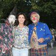 Caroline Barclay - Soirée d'inauguration de la 35ème fête foraine des Tuileries au Jardin des Tuileries à Paris, le 22 juin 2018. © Coadic Guirec/Baldini/Bestimage