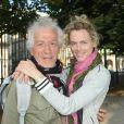 Jean-Luc Moreau et sa femme Mathilde Pénin - Soirée d'inauguration de la 35ème fête foraine des Tuileries au Jardin des Tuileries à Paris, le 22 juin 2018. © Coadic Guirec/Baldini/Bestimage